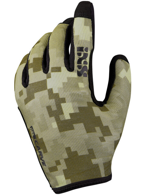 IXS Carve Gloves Camel Camo